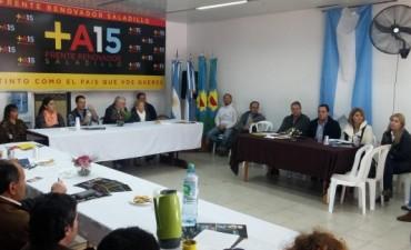 La Mesa Seccional de la Séptima se reunió en Saladillo