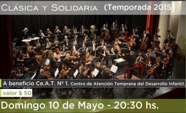 """Nuevo concierto del ciclo """" Clásica y Solidaria"""""""