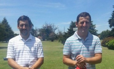 Golf: Nestor Leiva y Mariano Carroze fueron los ganadores del tradicional torneo de los días miércoles a 9 hoyos.