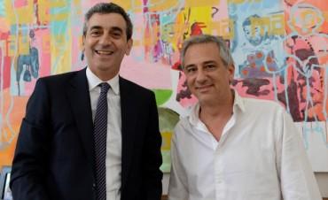 Finalmente el ministro Randazzo llegó a Olavarría