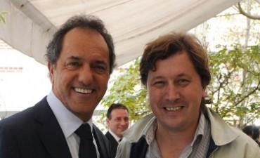 Tras el encuentro con Scioli, Santellán habló de coherencia