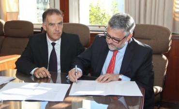 El Colegio de Abogados de Azul firmó convenio con el Ministerio de Trabajo