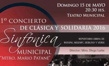 Clásica y Solidaria: nuevo concierto de la Orquesta Sinfónica