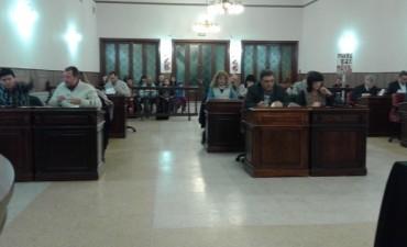 Sesionó el Concejo Deliberante