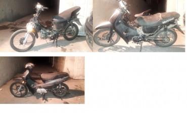 Hallazgo de ciclomotores con secuestro activo