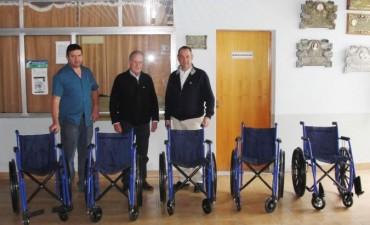 Alvear: el hospital recibió una donación de sillas de ruedas