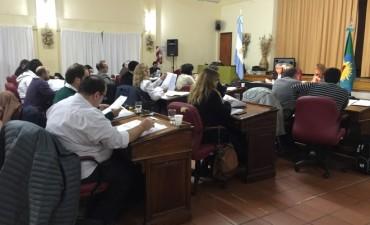 Sesionó el Concejo Deliberante en Colonia Hinojo