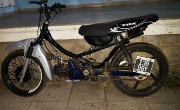 Recuperaron una moto con pedido de secuestro por Hurto
