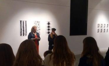 Francisco Daverio presentó su exposición en el Centro Cultural
