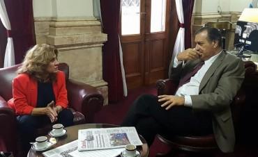Lordén dialogó con Ángel Rozas sobre el futuro de la UCR y Cambiemos