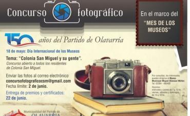 """Mes de los Museos: concurso fotográfico """"Colonia San Miguel y su gente"""""""