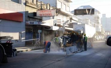El Municipio continúa con las obras de bacheo