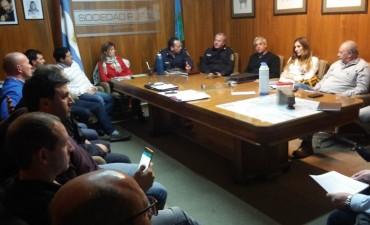 Se reunió el Consejo Municipal de Seguridad