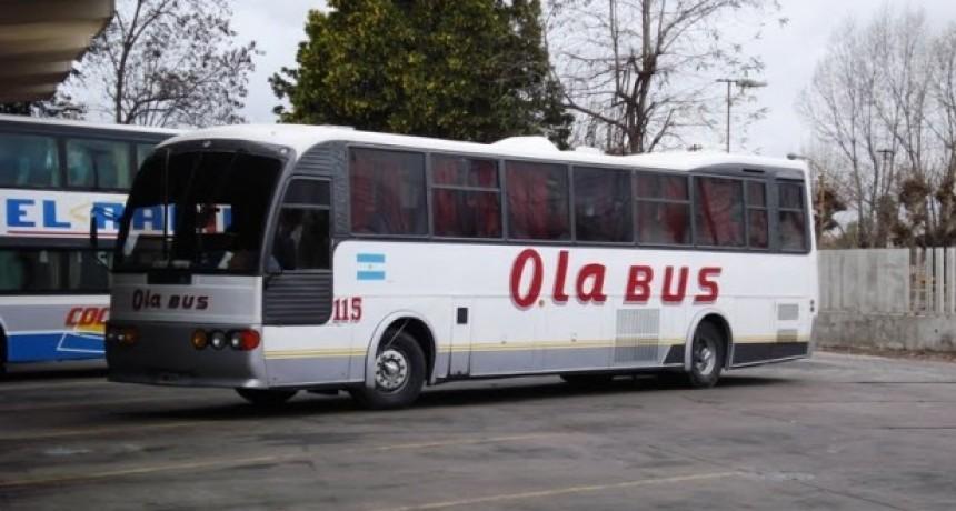 Otra vez problemas en el Transporte Público: no anduvo Ola Bus en la primera mañana