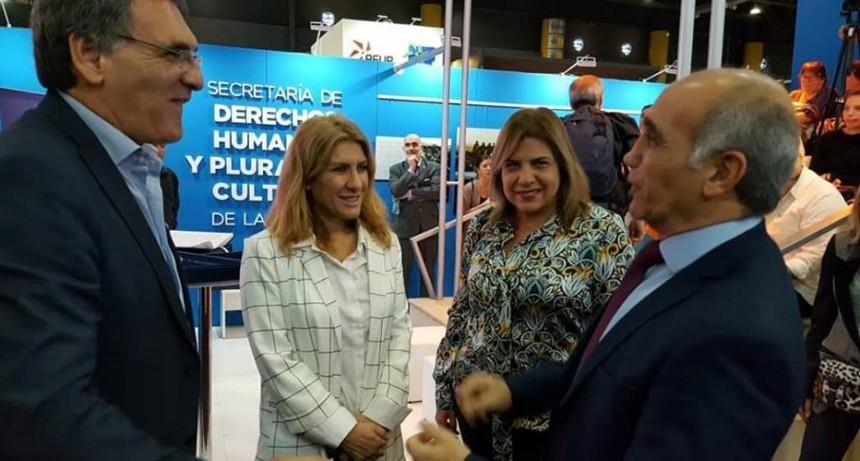 Lordén participó de la presentación de la Constitución de Buenos Aires en Braille