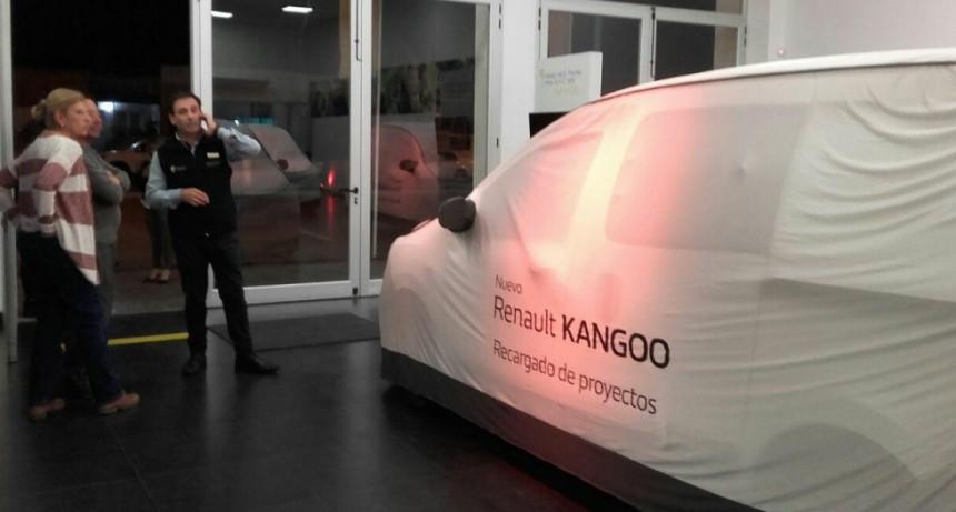 Presentaron la nueva Kangoo de Renault