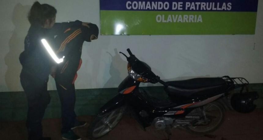 Esclarecen robo de moto