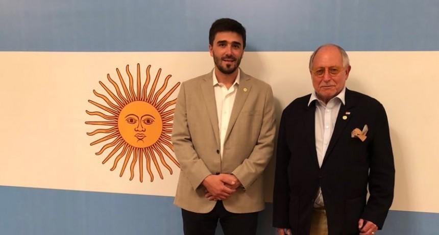 El intendente se entrevistó con el embajador argentino en China