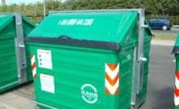 Buscan que los vecinos tengan más cerca los contenedores de residuos