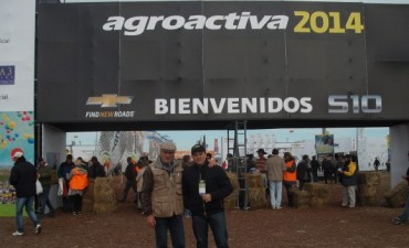Radio Olavarría en Agroactiva 2014.