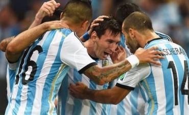 Argentina 2 - Bosnia 1 se vivió por LU32