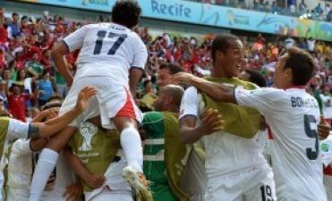 Histórico. Costa Rica le ganó a Italia 1 a 0 y clasificó