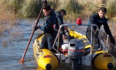 Sin novedades de los pescadores olavarrienses