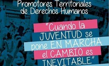 Derechos Humanos: capacitan a  jóvenes como promotores territoriales
