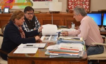 """José Eseverri: """"la obra pública en Olavarría tiene como objetivo mejorar la calidad de vida de nuestros vecinos"""