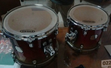 Recuperaron tambores robados a Baglietto