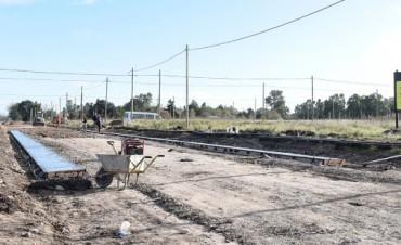 Procrear: Continúan las obras de infraestructura en los terrenos del Pickelado