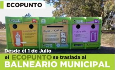 El Ecopunto se traslada al Parque del Bicentenario