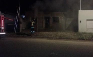 Incendio de una vivienda:habría sido intencional