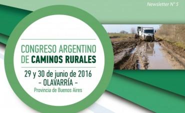 A fines de junio se realizará el primer Congreso Nacional de Caminos Rurales