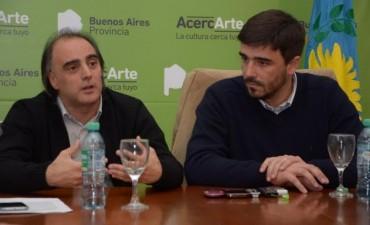 El intendente Galli y el Secretario de Cultura de la Provincia presentaron la fiesta de la cultura