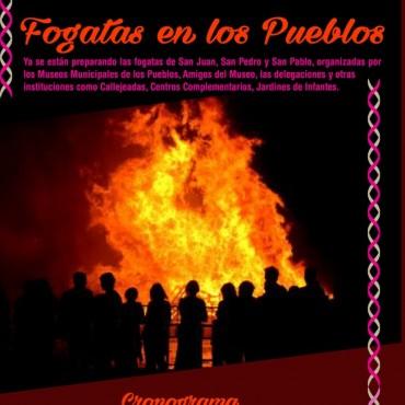 Celebrarán las fogatas de San Juan, San Pedro y San Pablo en las localidades