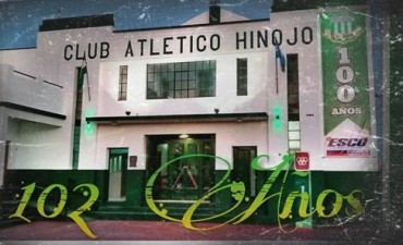 El Club Atlético  Hinojo de cumpleaños