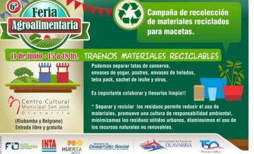 Campañas de reciclado en la Feria Agroalimentaria