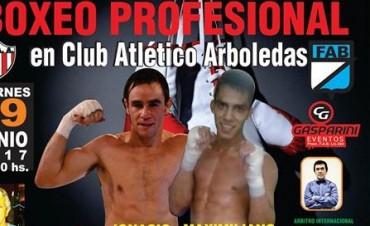 Boxeo: Ignacio Palahy regresa  tras  brillar por TyC Sport
