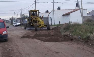 Tareas de mejoras en Sierra Chica