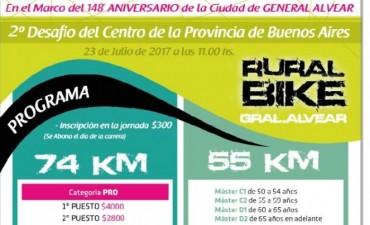 Alvear: Rural Bike: 2º Desafío del Centro de la Provincia de Buenos Aires