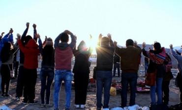 Ceremonia de inicio del solsticio de invierno