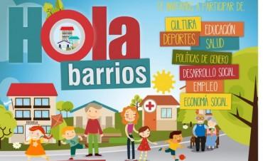 HOla Barrios  en el Parque Eva Perón