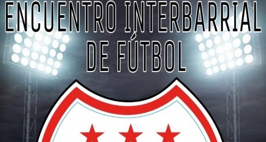 Encuentro Interbarrial de Fútbol Mixto en barrio 4 De Octubre