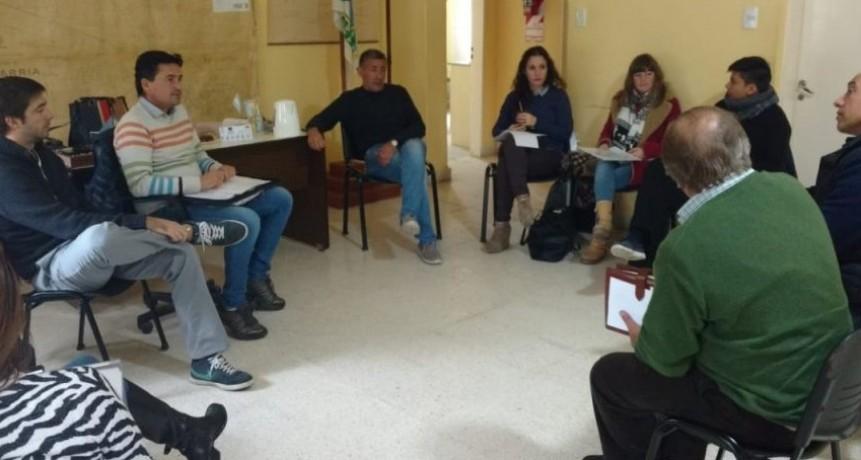 Los delegados se reunieron en Espigas