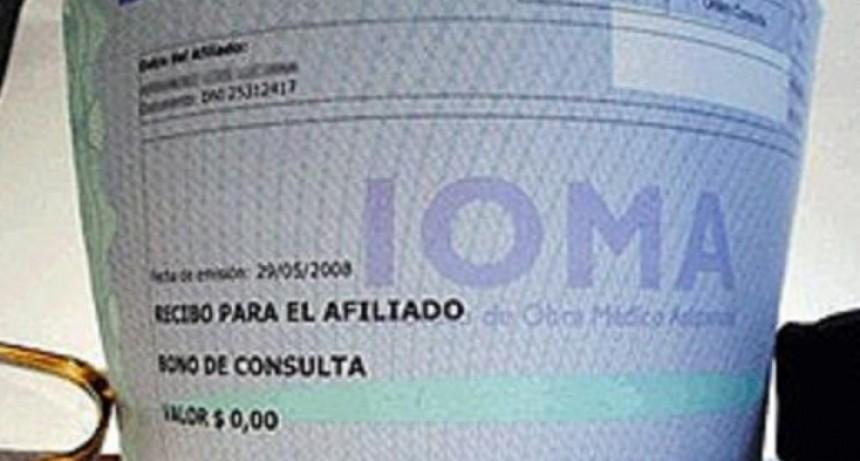 En algunos distritos de la provincia, aumentan los bonos de IOMA