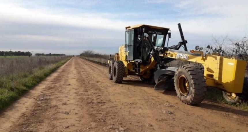 Comenzaron los trabajos de mantenimiento en el Camino de los Chilenos