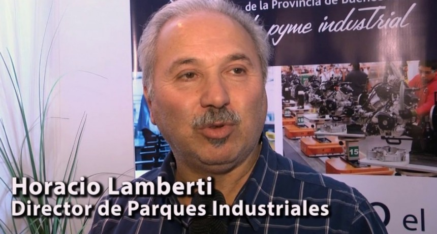 Lamberti: 'soy fanático de los parques industriales'