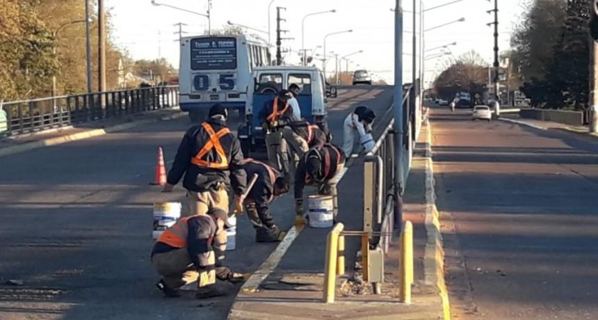 Continúan los trabajos de infraestructura vial
