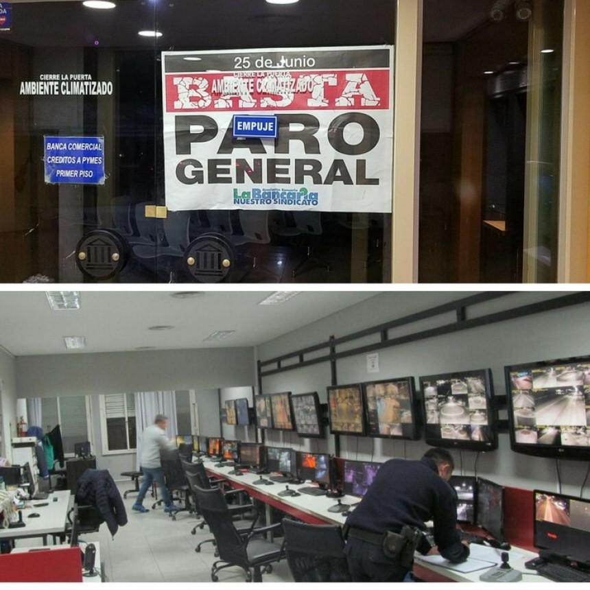 Ya impacta el paro general en Olavarría